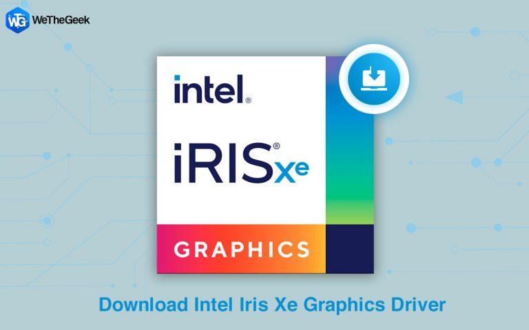 Как загрузить графический драйвер Intel Iris Xe?