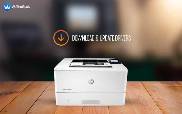 Как загрузить и обновить драйвер HP LaserJet Pro M404n?