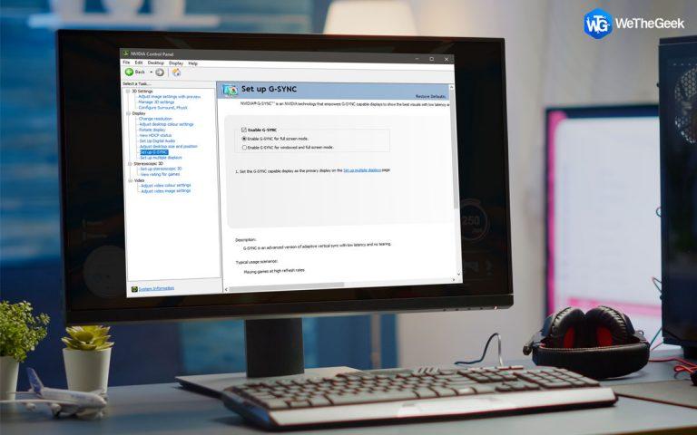 Как включить FreeSync на ПК с Windows