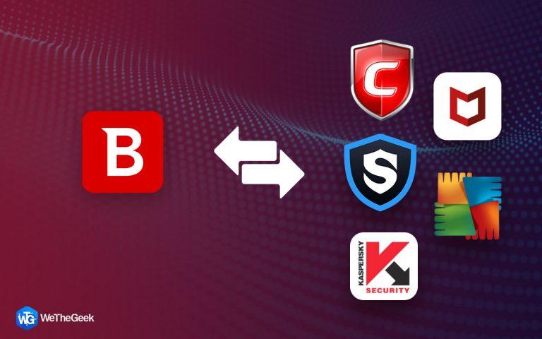 9 Лучшая альтернатива антивирусу Bitdefender для Windows и Mac