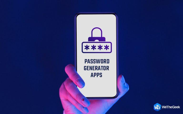 5 лучших приложений для генерации паролей для Android в 2021 году (БЕСПЛАТНО и платно)