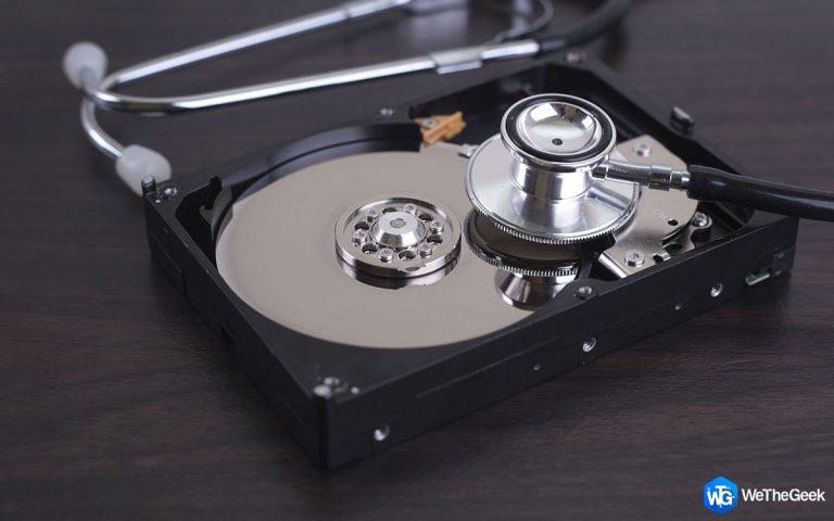 6 лучших способов проверить состояние жесткого диска в Windows 10