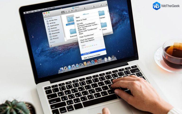 5 быстрых способов скопировать путь к файлу в macOS X