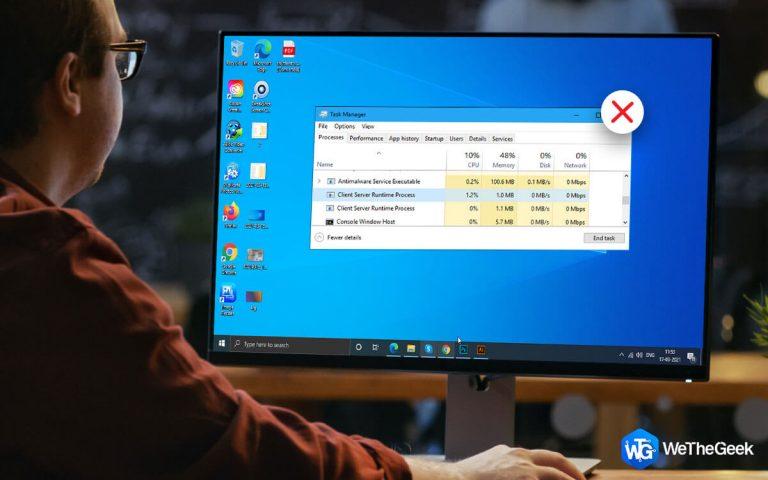 Как удалить вирус Csrss.exe с ПК с Windows