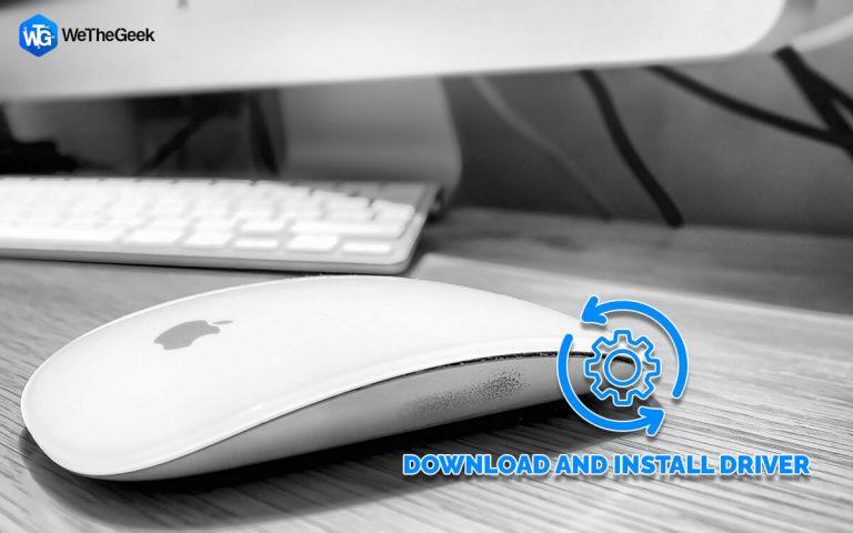 Как загрузить и установить драйвер Apple Magic Mouse для Windows 10?