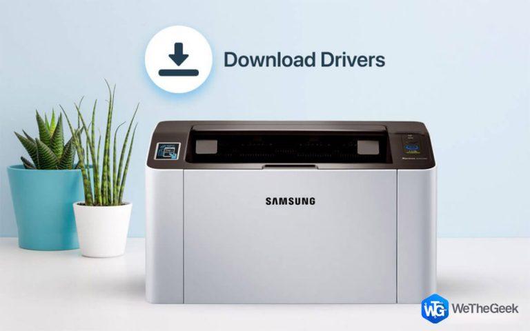 Как загрузить драйверы Samsung M2020 на ПК с Windows 10?