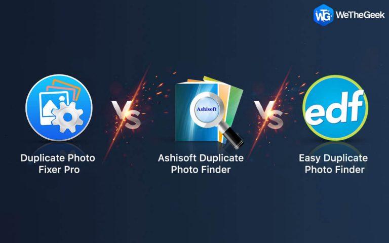Duplicate Photo Fixer Pro против Ashisoft Duplicate Photo Finder против Easy Duplicate Photo Finder
