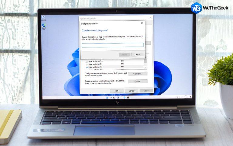 Как использовать восстановление системы в Windows 11