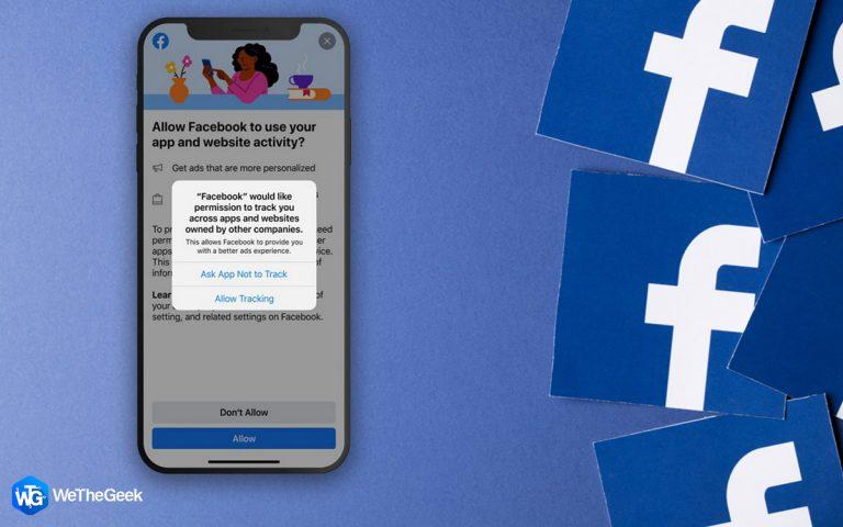Новое всплывающее сообщение Facebook — ответ на обновление прозрачности отслеживания приложений Apple