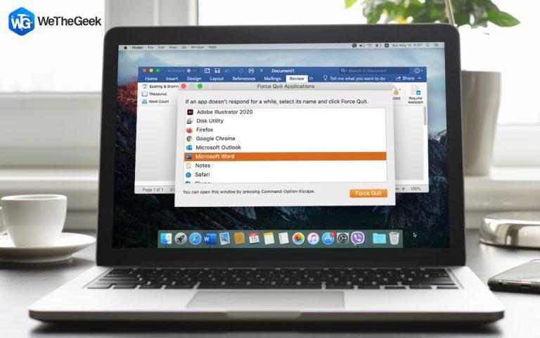 6 способов исправить сбой Microsoft Word на Mac