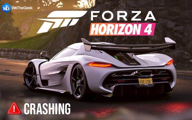 Как исправить сбой Forza Horizon 4 на ПК (обновлено)