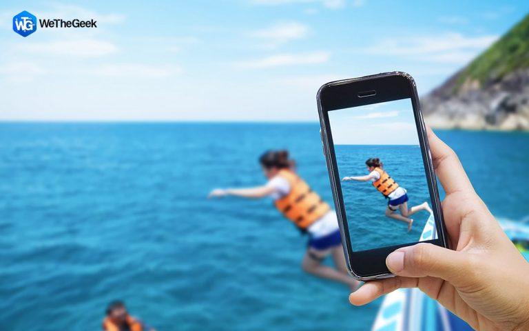 Как размыть фон на фотографиях на iPhone