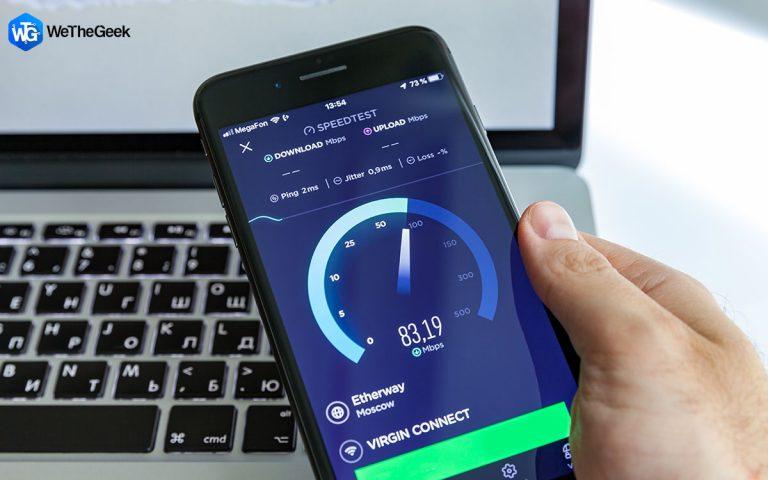 Как провести тест скорости мобильной передачи данных в режиме реального времени?