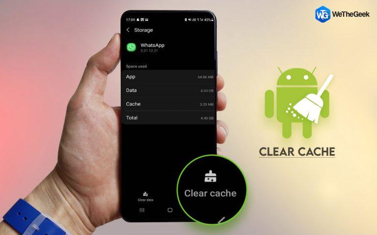 Как очистить кеш Android