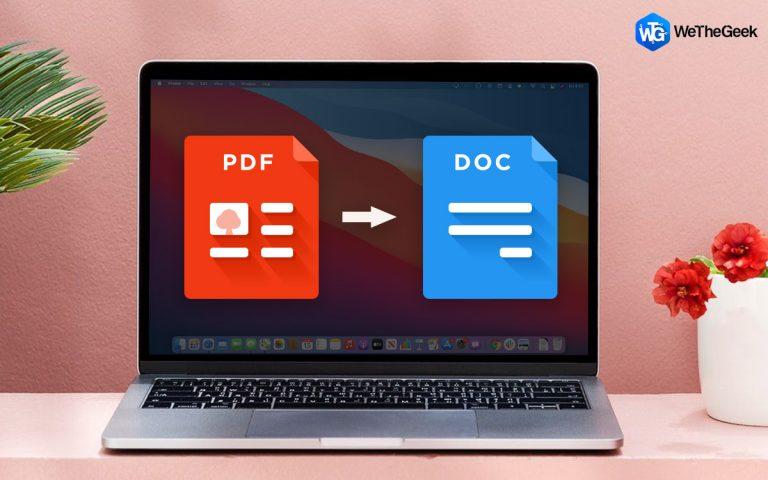 Как конвертировать PDF в Word на Mac (обновлено 2021 г.)