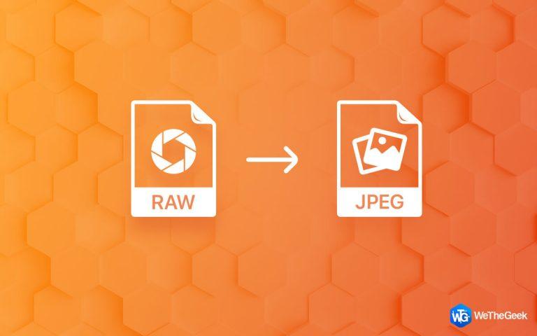 Как конвертировать RAW в JPEG без потери качества (2021)