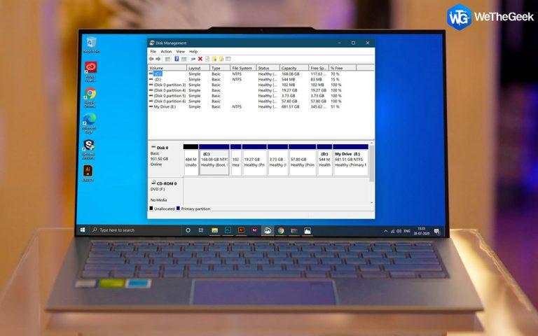 Как создать раздел восстановления в Windows 10
