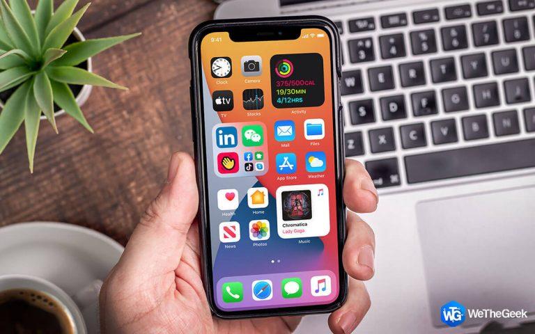 Как настроить приложения для iPhone в iOS 14?