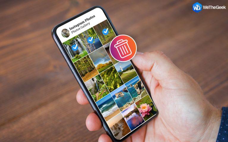 Как удалить повторяющиеся фотографии Instagram (сохраненные) на вашем телефоне?