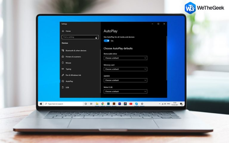 Как отключить функцию автозапуска в Windows 10