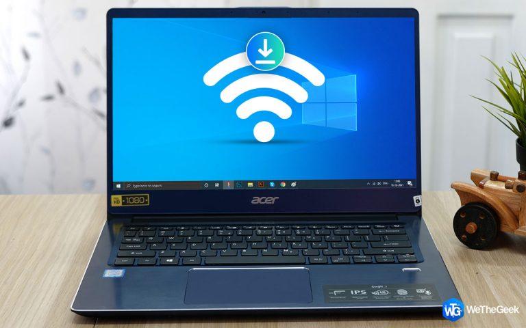 Как загрузить и обновить драйвер Acer Wi-Fi для Windows 10?