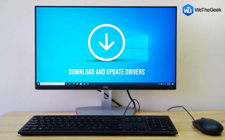 Как загрузить и обновить драйвер монитора Dell