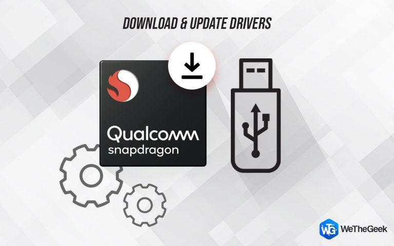 Как загрузить и обновить драйвер Qualcomm USB для Windows 10?