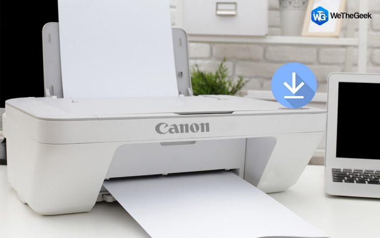 Как загрузить и установить драйвер Canon PIXMA MG2522 на ПК с Windows?