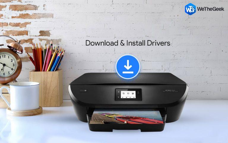 Как загрузить и установить драйверы HP Envy 5540 для Windows 10