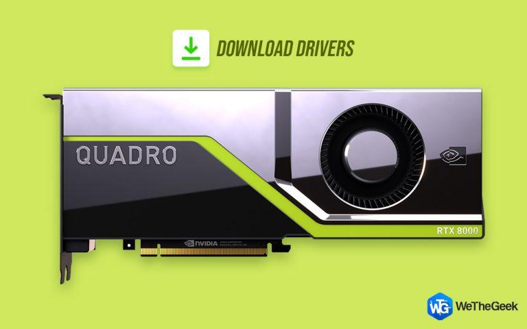 Как загрузить и установить последний драйвер Nvidia Quadro RTX 8000