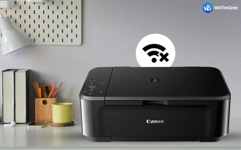 Как исправить Canon MG3650 не подключается к Wi-Fi в Windows 10
