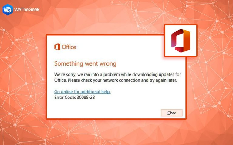 Как исправить ошибку обновления MS Office Code 30038-28 в Windows 10