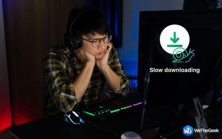 Как исправить медленную загрузку Epic Games