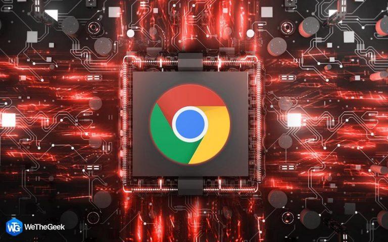 Как исправить высокую загрузку процессора в Google Chrome?