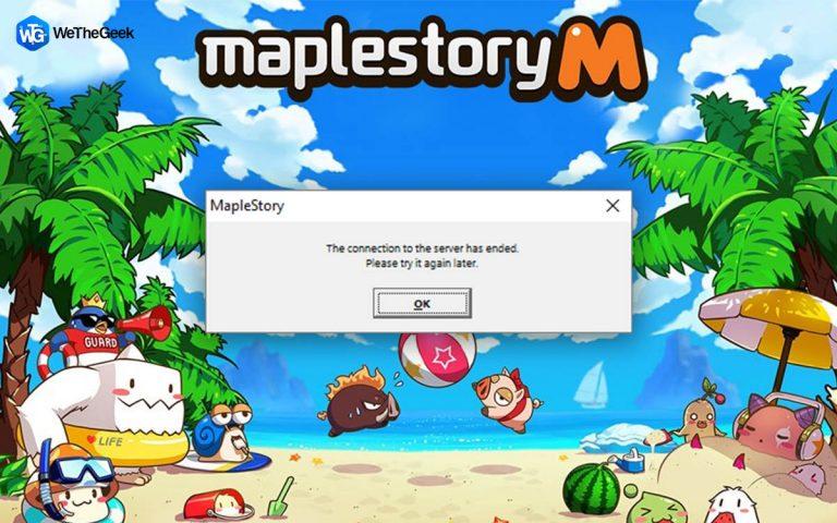 Как исправить, что MapleStory не запускается при запуске в Windows 10?