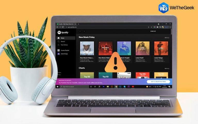 Как исправить Spotify Web Player, не работающий на ПК с Windows 10?