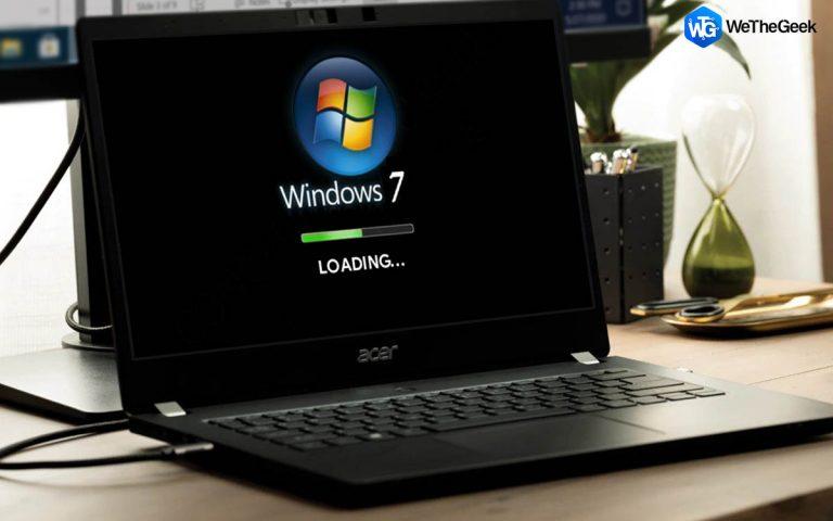 Как исправить проблемы с медленной загрузкой Windows 7