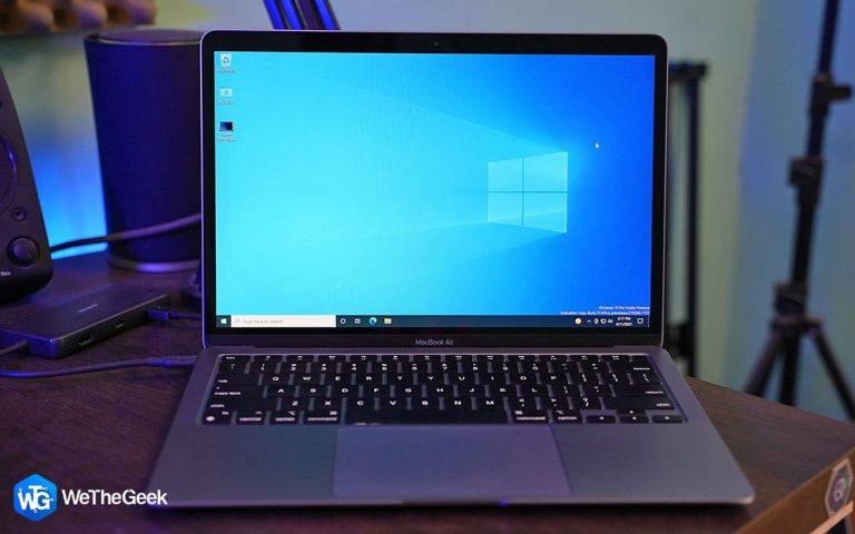 Как установить Windows на Mac: простые шаги