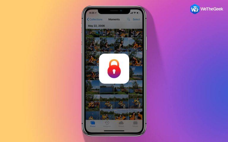 Как заблокировать скрытые фотографии на iPhone?