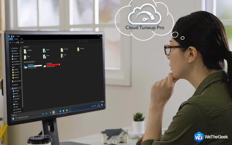 Как управлять потреблением дискового пространства с помощью Cloud Tuneup Pro