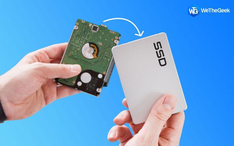 Как перенести ОС с HDD на SSD без потери данных