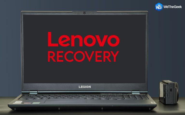 Как выполнить восстановление Lenovo в Windows 10?