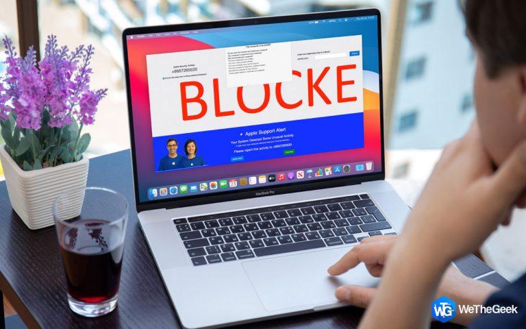 Как предотвратить оповещения о порнографических вирусах от «Apple»