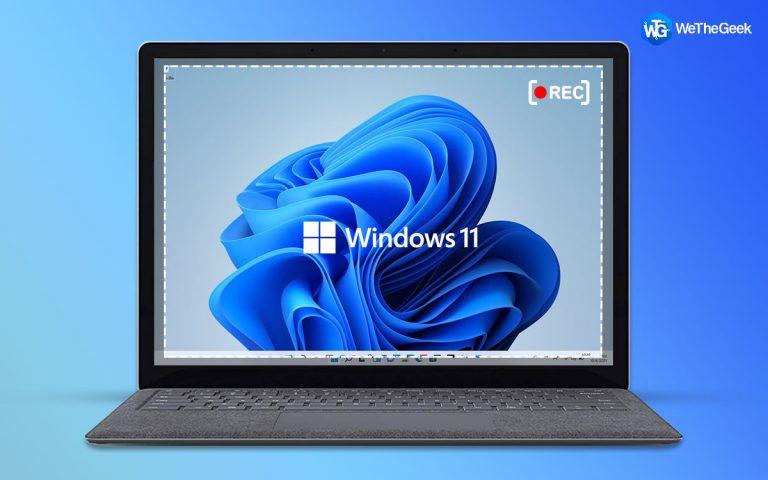Как записать экран в Windows 11 (обновлено)