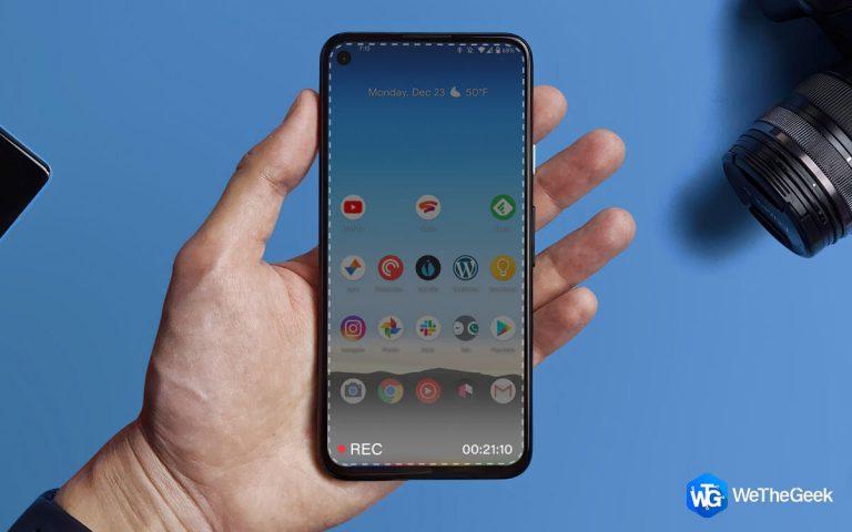 4 способа записи экрана со звуком на Android (2021)