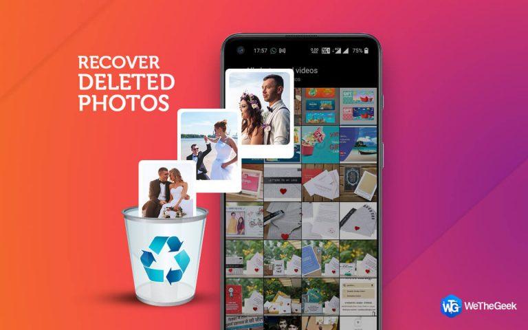 Как восстановить удаленные и скрытые фотографии на Android?