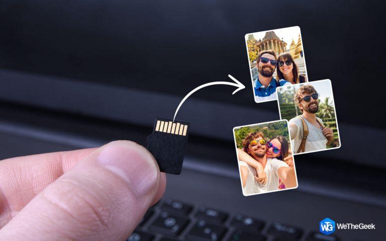 Как восстановить удаленные фотографии с карты Micro SD?