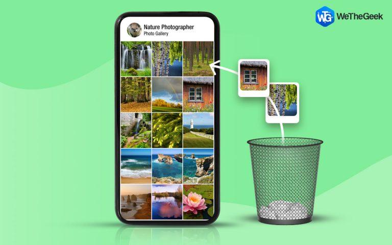 Как восстановить удаленные фотографии из галереи Android