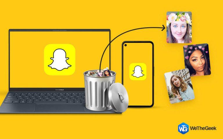 Как восстановить удаленные фотографии Snapchat на ПК и телефоне?