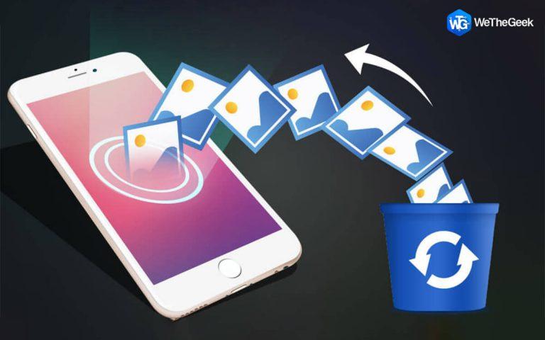 Как восстановить удаленные фотографии с iPhone (5 способов)